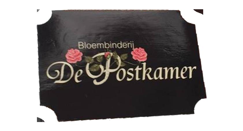 Logo Bloembinderij De Postkamer